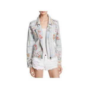 Blank NYC Jackets & Coats - Blank NYC Embroidered Jean Jacket